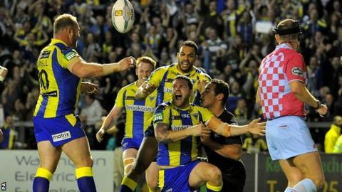 Warrington celebrate