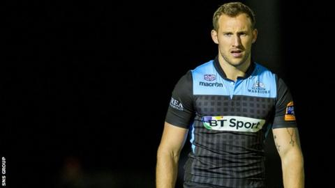 Byron McGuigan scored a first-half try for Glasgow