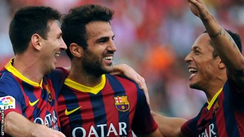 Lionel Messi; Cesc Fabregas;