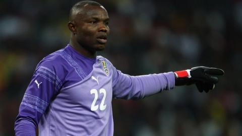 Ghana goalkeeper Richard Kingson