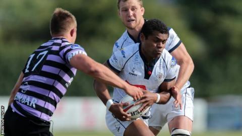 Sammy Speight in action for Bristol