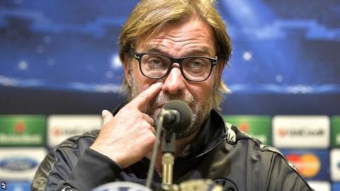Borussia Dortmund coach Juergen Klopp