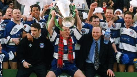 Andy Nicol won the Heineken Cup with Bath in 1998