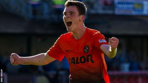 Dundee United full-back Andrew Robertson
