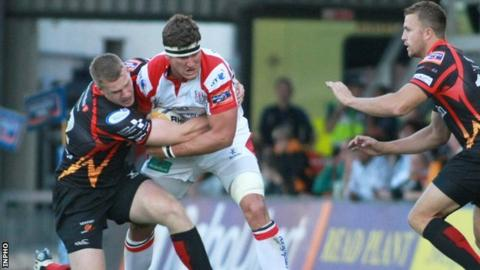 Ulster back row Robbie Diack