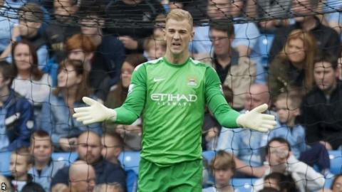 Joe Hart has come under pressure
