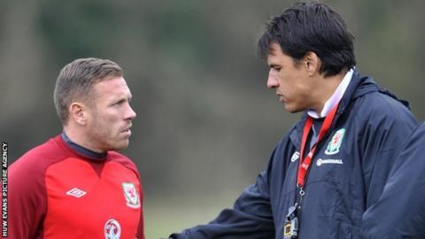 Craig Bellamy and Chris Coleman