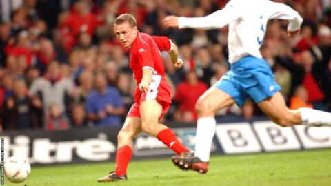 The Cardiff-born striker scores the winner on an unforgettable evening at the Millennium Stadium as Wales beat Italy 2-1