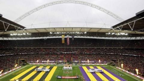 Minnesota Vikings v Pittsburgh Steelers at Wembley
