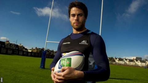 Glasgow winger Sean Maitland