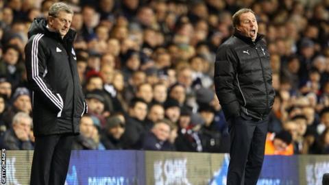 Roy Hodgson and Harry Redknapp
