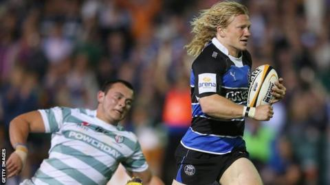 Tom Biggs playing for Bath