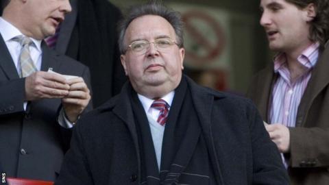 Former Dunfermline owner Gavin Masterton