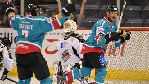 The Belfast Giants beat the Sheffield Steelers 4-2 in Saturday night's Elite League game