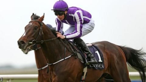The 2012 Derby winner, Camelot, has been retired