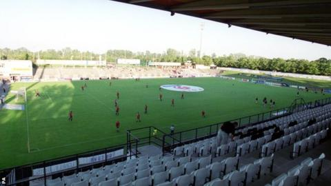 Austrian Bundesliga side Admira Wacker's stadium