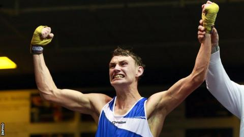 Sean McComb clinched a unanimous decision in Tuesday's bout