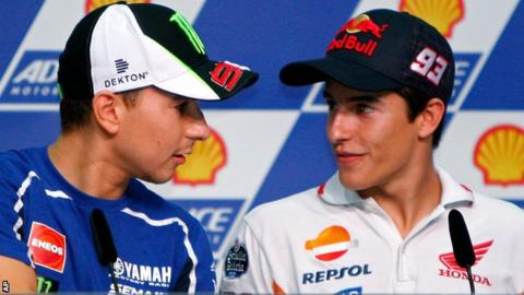 Jorge Lorenzo & Marc Marquez