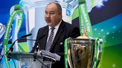 Scottish Rugby chief executive Mark Dodson