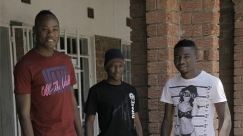 Stoppila Sunzu, Rainford Kalaba and Nathan Sinkala