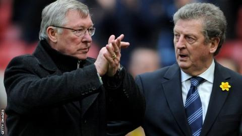 Sir Alex Ferguson and Roy Hodgson