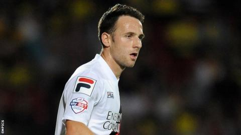 Bournemouth winger Marc Pugh