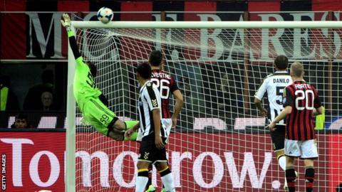 AC Milan v Udinese