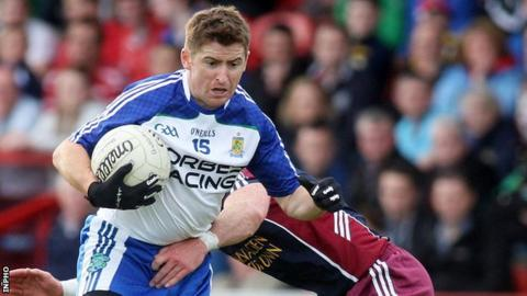 Conleth Giligan scored in Ballindery's win over Clonoe