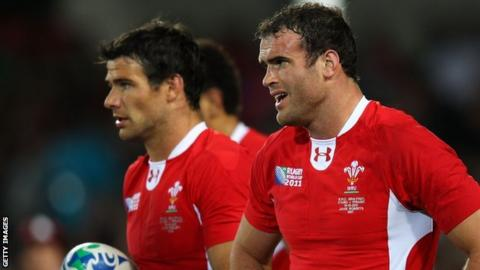 Mike Phillips and Jamie Roberts