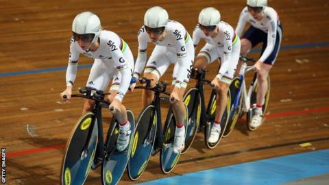 Great Britain women's pursuit team
