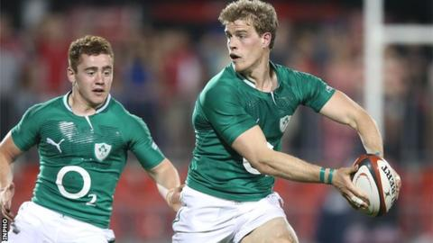 Andrew Trimble (right)
