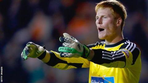 Bolton Wanderers goalkeeper Adam Bogdan