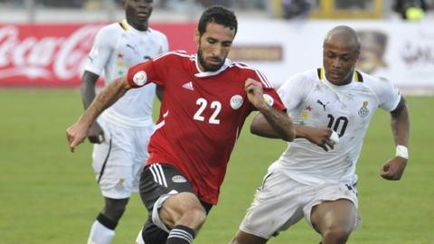 Ghana v Egypt