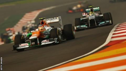 Indian Grand Prix: Sunday's race cleared as court delays tax hearing