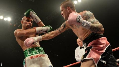 Raymondo Beltran and Ricky Burns