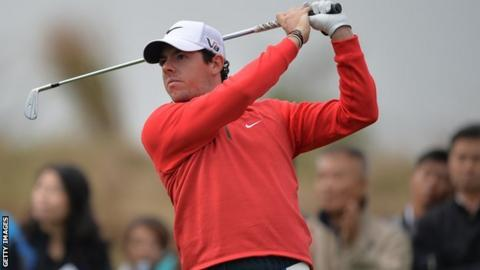 World number six Rory McIlroy