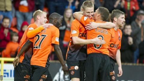 Dundee United beat St Mirren 4-0 at Tannadice
