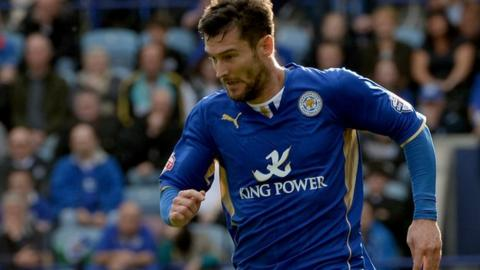 Leicester striker David Nugent