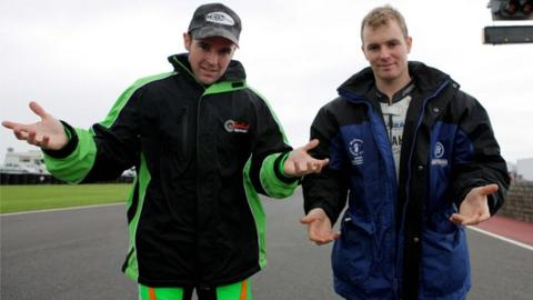 Alastair Seeley and Stuart Easton