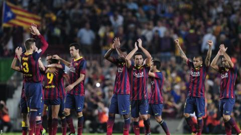 The final whistle in El Clasico saw La Liga leaders Barcelona claim a 2-1 victory that put them six points clear of Real Madrid, who remained in third.