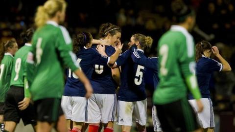Scotland beat Northern Ireland 2-0 at Fir Park