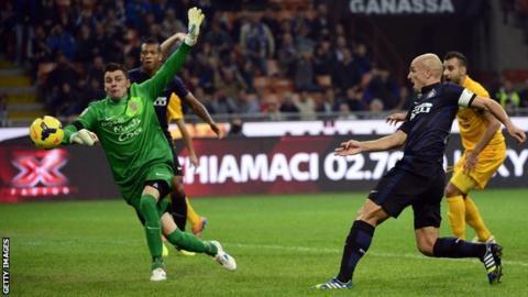 Inter Milan v Verona