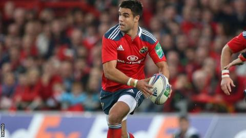 Munster scrum-half Conor Murray is cited for incident during Pro12 win over Glasgow