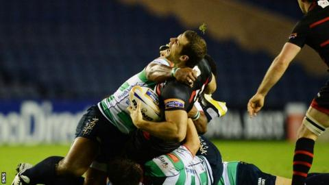 Tim Visser sustained the injury in the win against Treviso