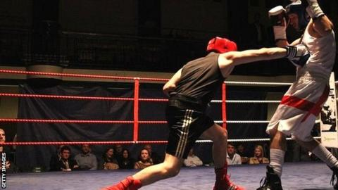 White-collar boxing