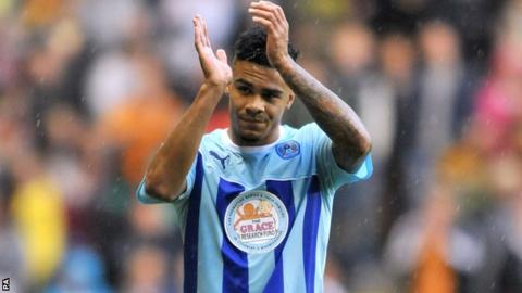 Coventry full-back Jordan Willis