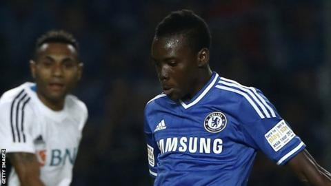 Chelsea have signed teenager Bertrand Traore