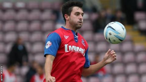 Gillingham midfielder Charlie Allen