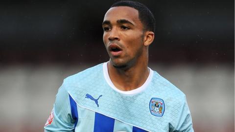 Coventry striker Callum Wilson