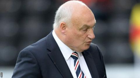 Former Rangers director of communications Jim Traynor